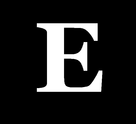 3D Letter E