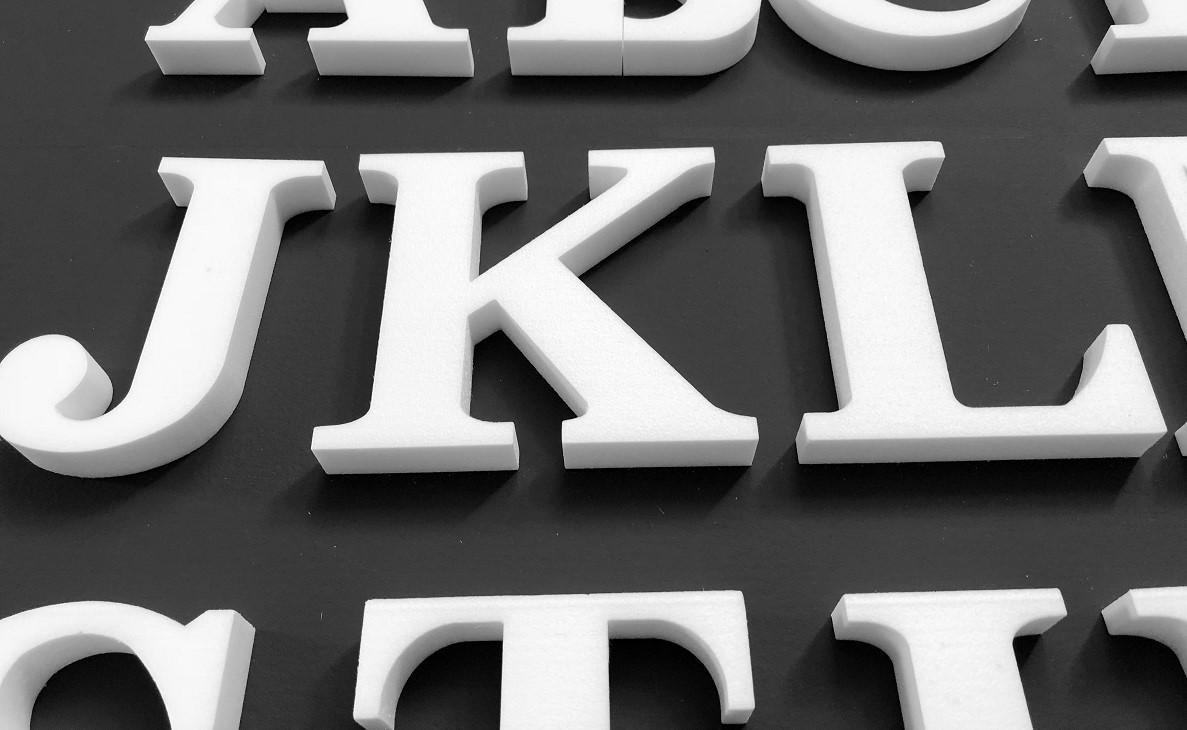 3D Letter L