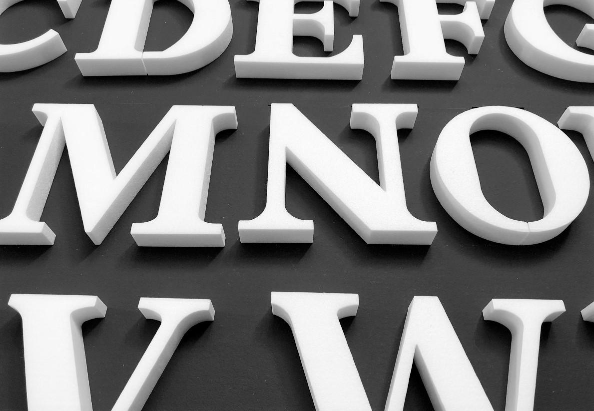 3D Letter M